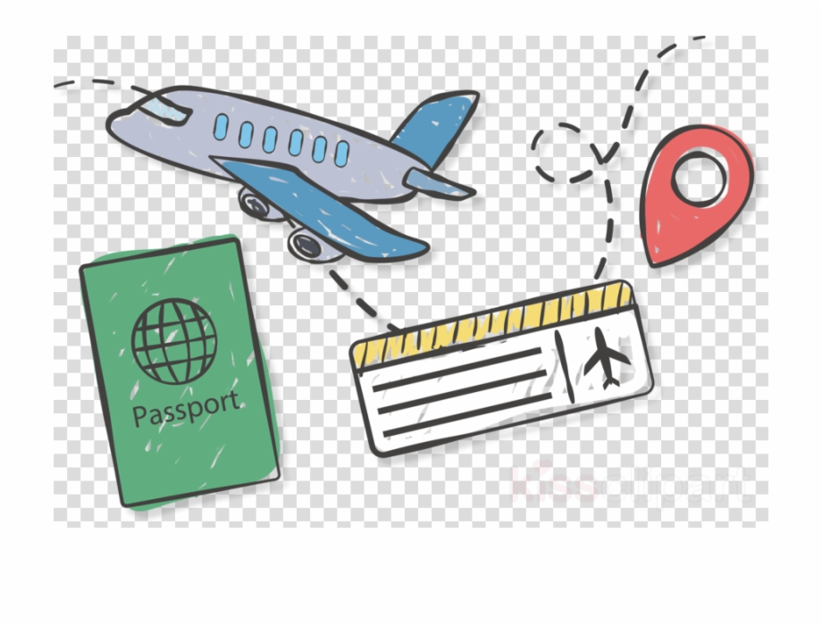 Tickets clipart air ticket. Travel icon png airline