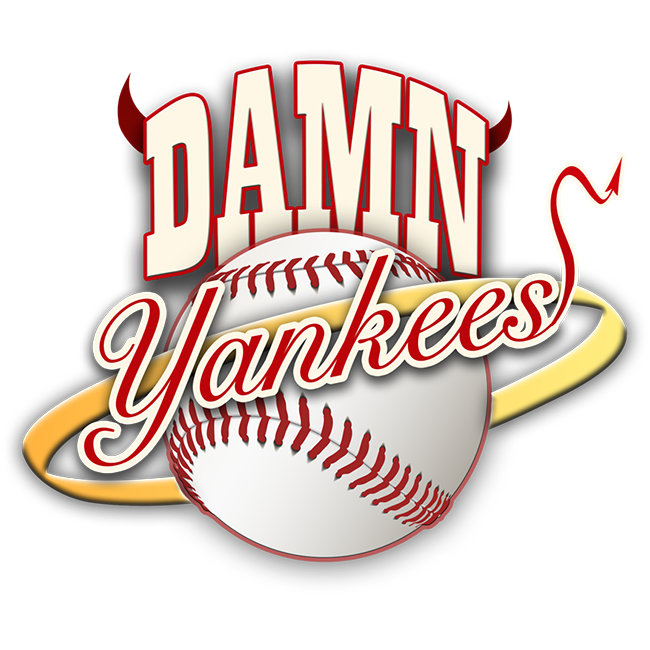 Damn yankees logo square. Tickets clipart baseball ticket