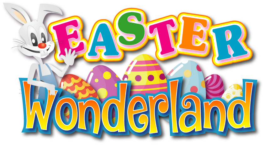 Tickets clipart carnival person. Easter wonderland rides entertainment