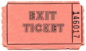 Tickets clipart exit ticket. Spanish with se ora