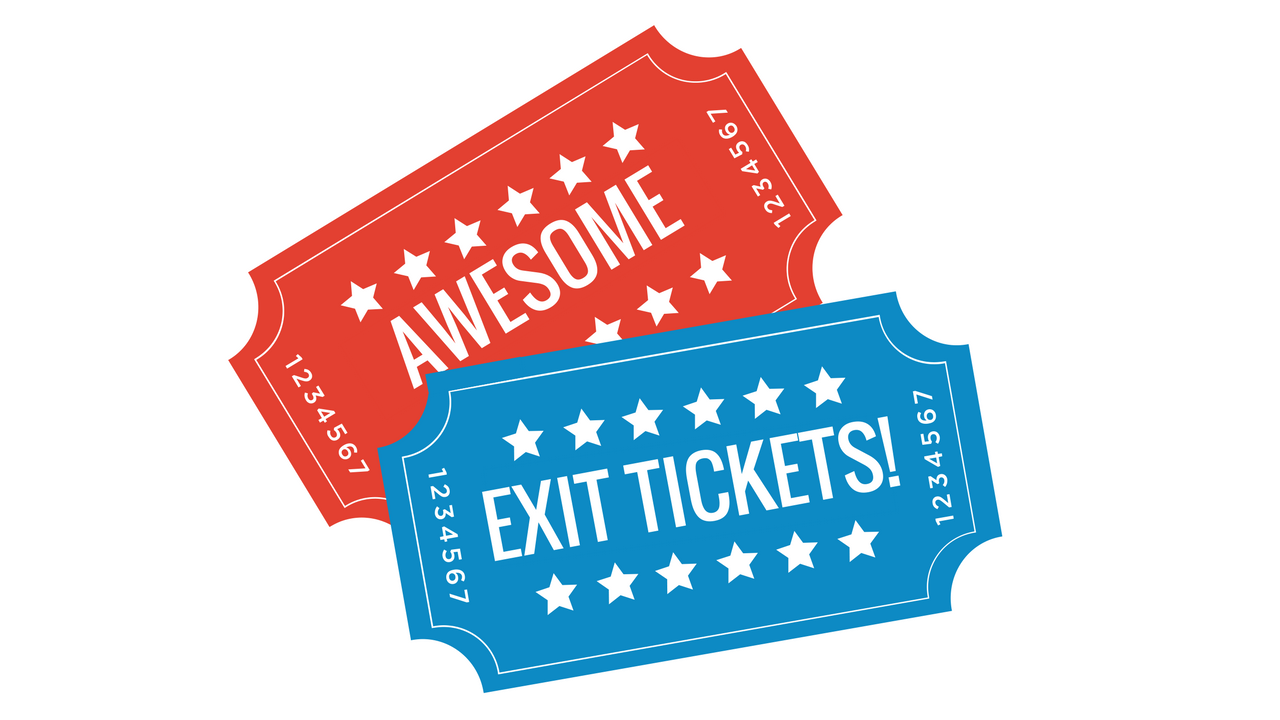 Make awesome with digital. Tickets clipart exit ticket
