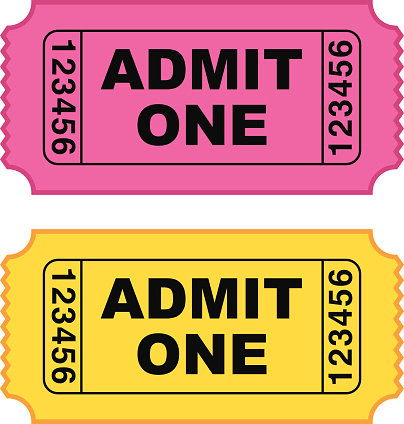 Admission cliparts free download. Tickets clipart pink ticket