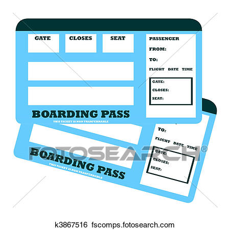 Boarding pass free download. Tickets clipart plane ticket