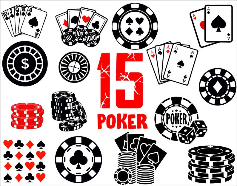 Tickets clipart poker. Svg vector casino playing
