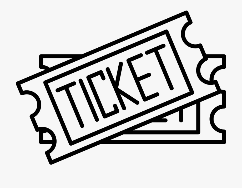 Ticket clipart svg. Two drawing png free