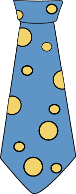Clip art images polka. Blue clipart neck tie