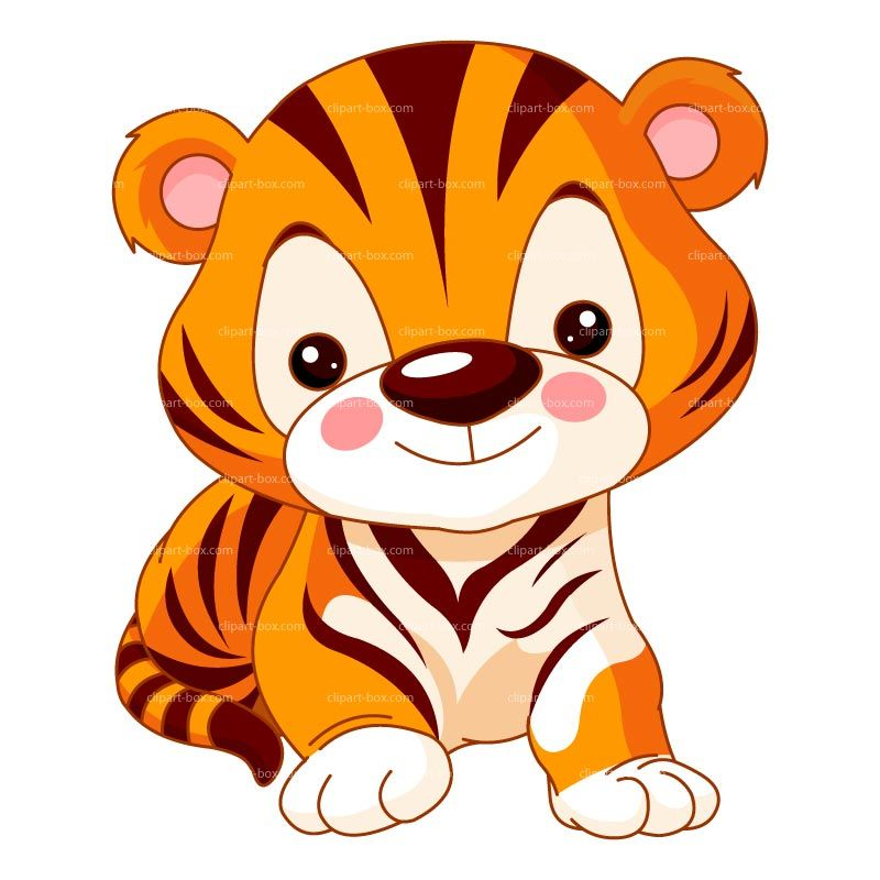 Baby clipart tigers. Tiger free large images
