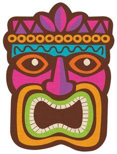 Hawaiian luau party pinterest. Tiki clipart