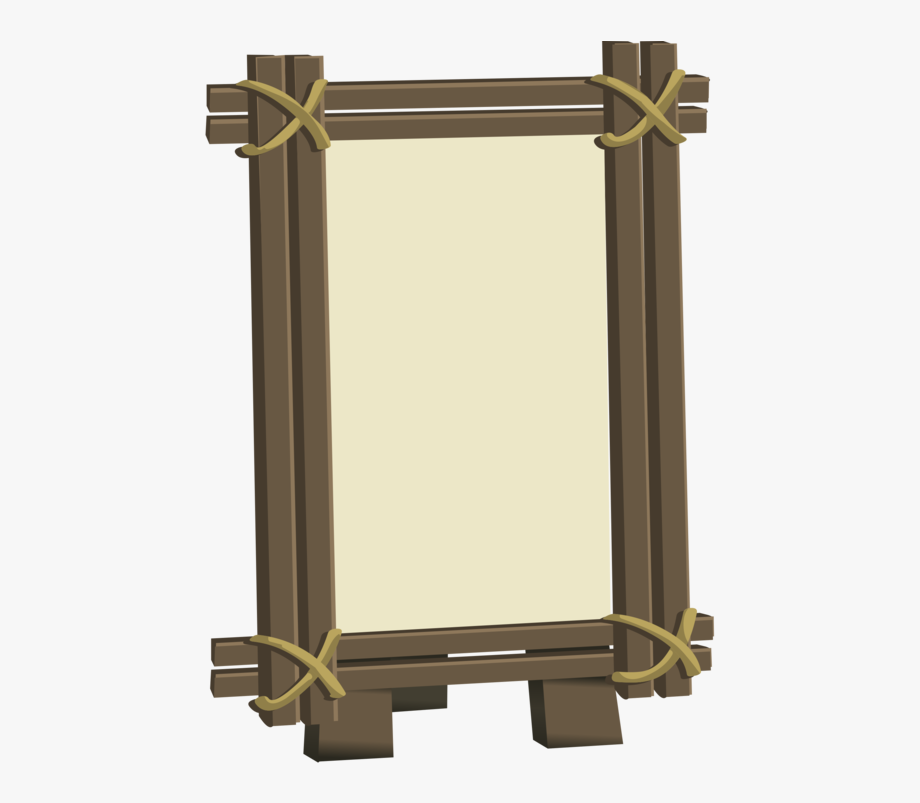 Wood culture computer icons. Tiki clipart frame