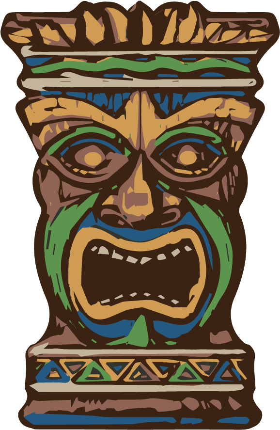 Hd free download picture. Tiki clipart person hawaiian