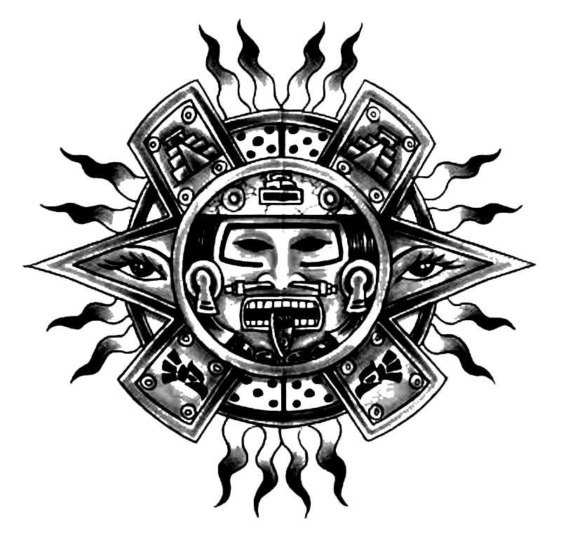 Tiki tribal warrior