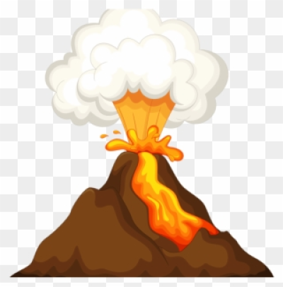 Download free png image. Tiki clipart volcano