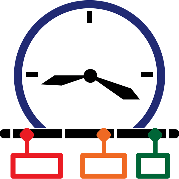 Timeline cilpart. Schedule clipart timeliness