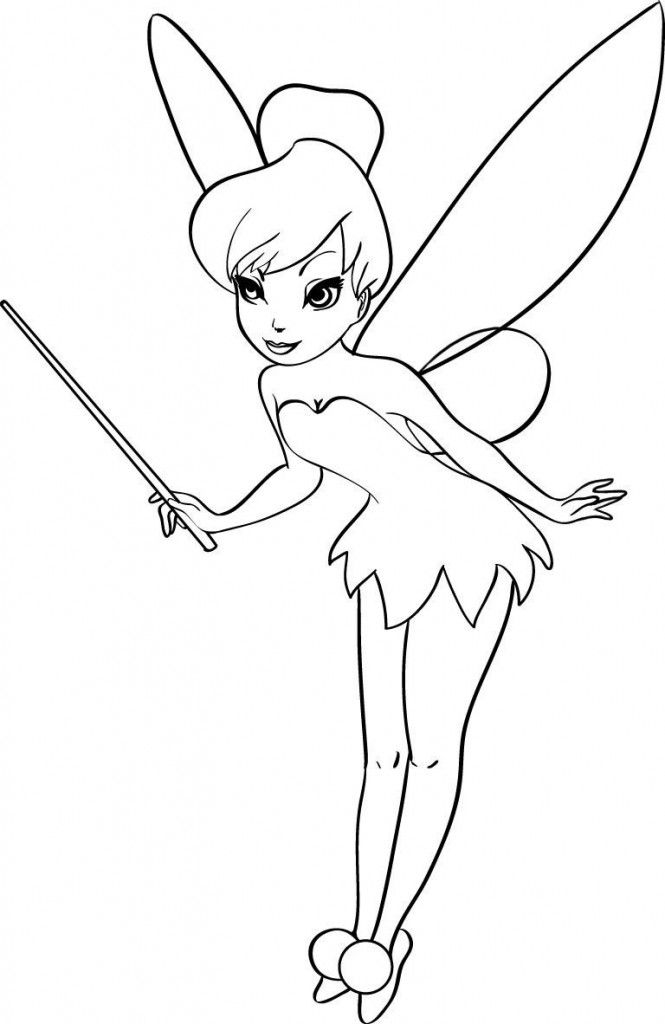Tinkerbell Clipart Color, Tinkerbell Color Transparent FREE For Download On  WebStockReview 2021