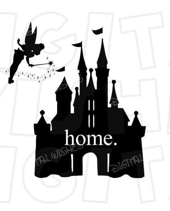 Home disney world magic. Tinkerbell clipart house