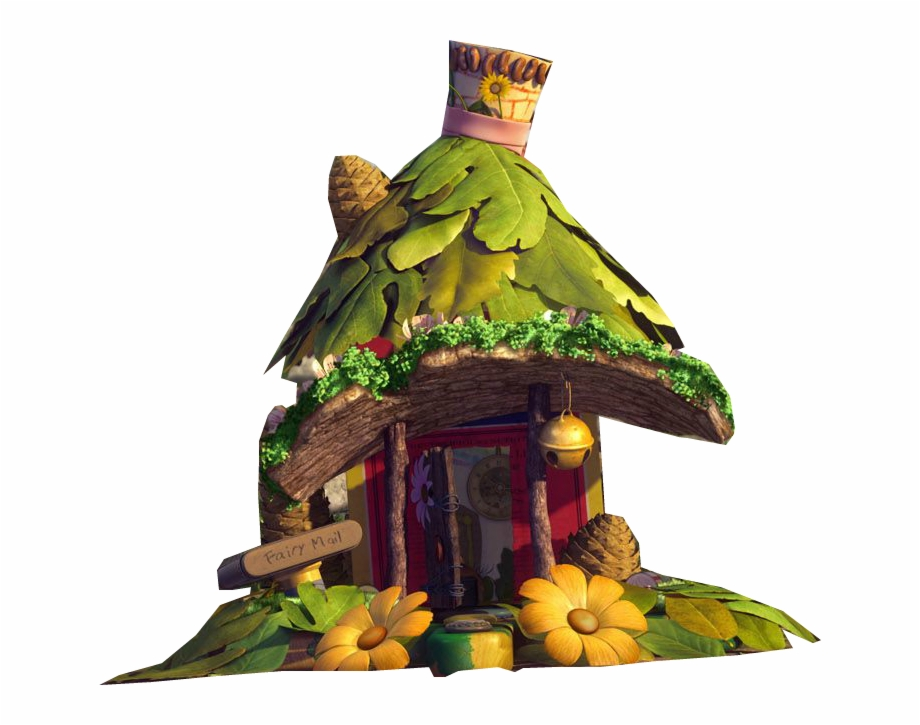 Fairy tree best and. Tinkerbell clipart house