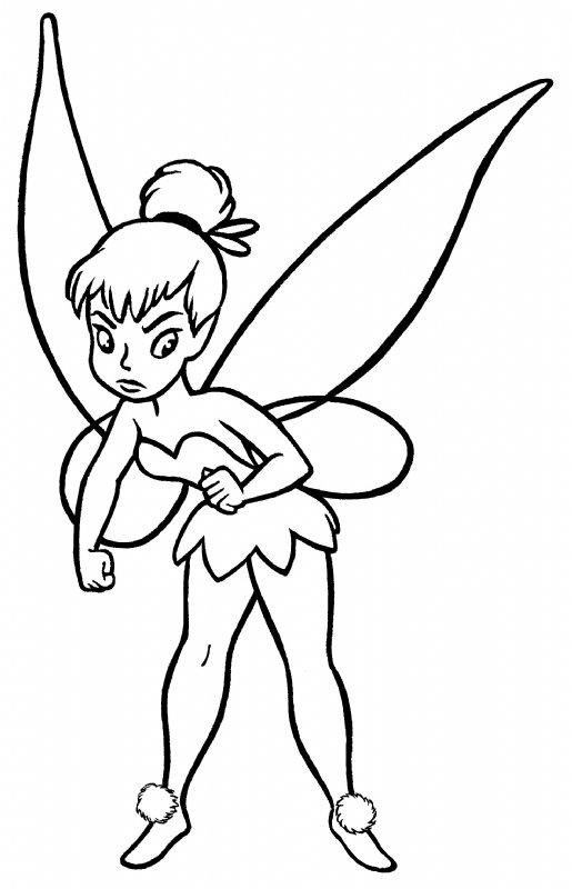 Tinkerbell clipart line drawing. Clip art pictures panda