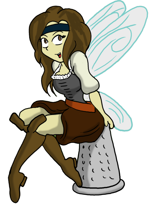 By cdrudd on deviantart. Tinkerbell clipart pirate fairy