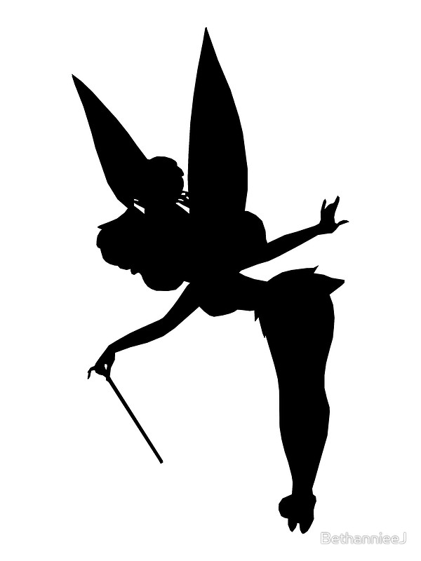 Tinkerbell clipart silhouette. Download tinker bell disney