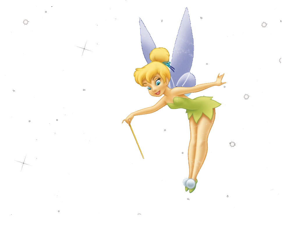 By the book peter. Tinkerbell clipart simple