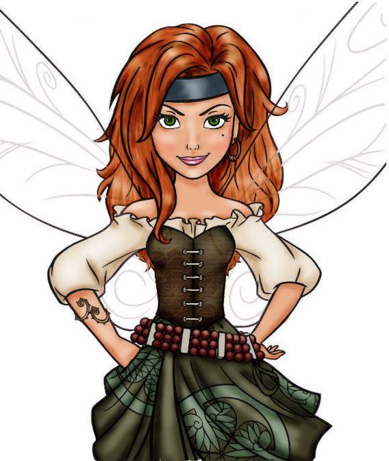 Tinkerbell clipart zarina. My tenth design of
