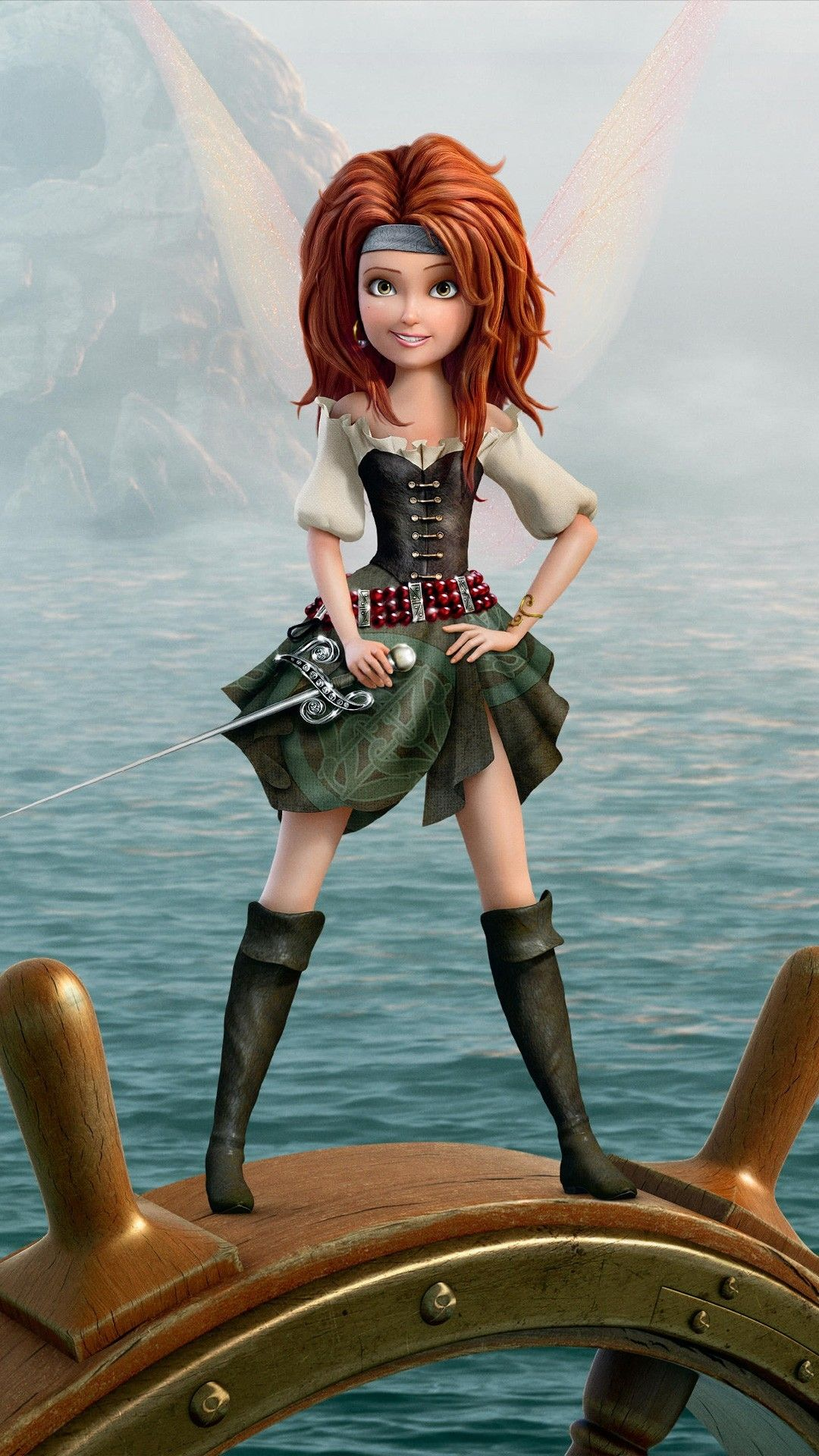 The pirate fairy friends. Tinkerbell clipart zarina