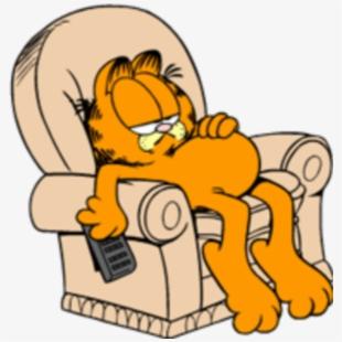 Tired clipart animated. Garfield sleepy bedtime gif