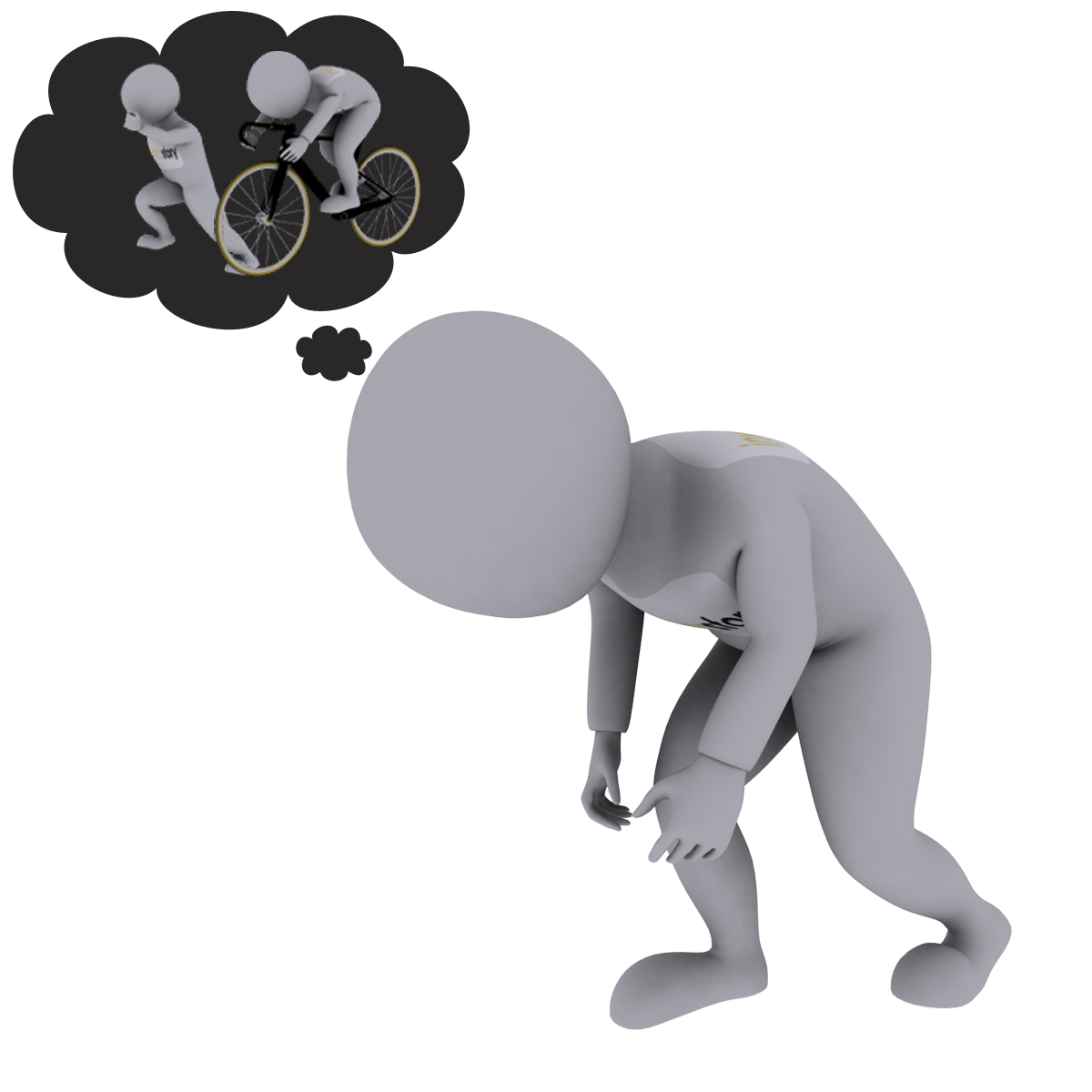 My first triathlon inventorstory. Tired clipart breathlessness