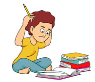 Search results for award. Tired clipart homework