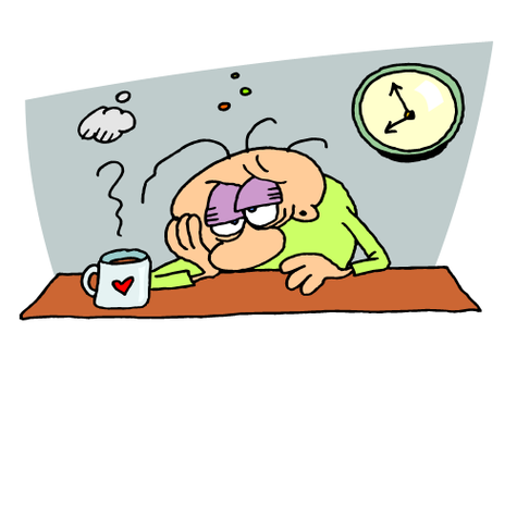 Free sleepy brain cliparts. Tired clipart linger