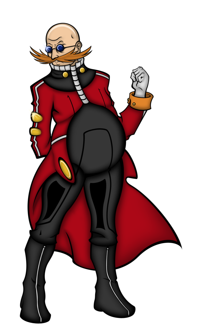 Tired clipart tired doctor. Sonic ellipse eggman by