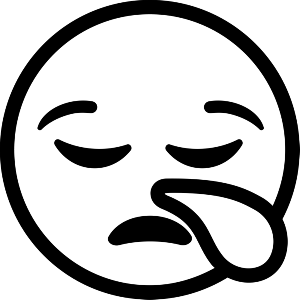 Tired clipart tired face. Emoji stamptopia sleepy rubber