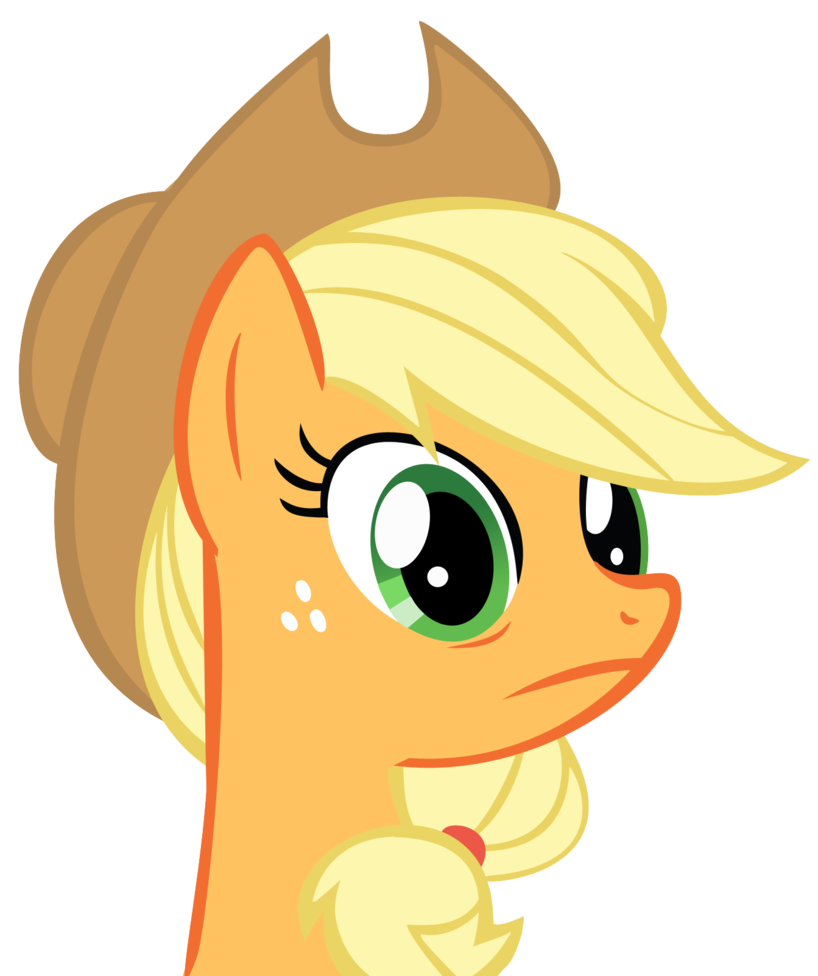Tired clipart tired face. Applejack is by dacowta