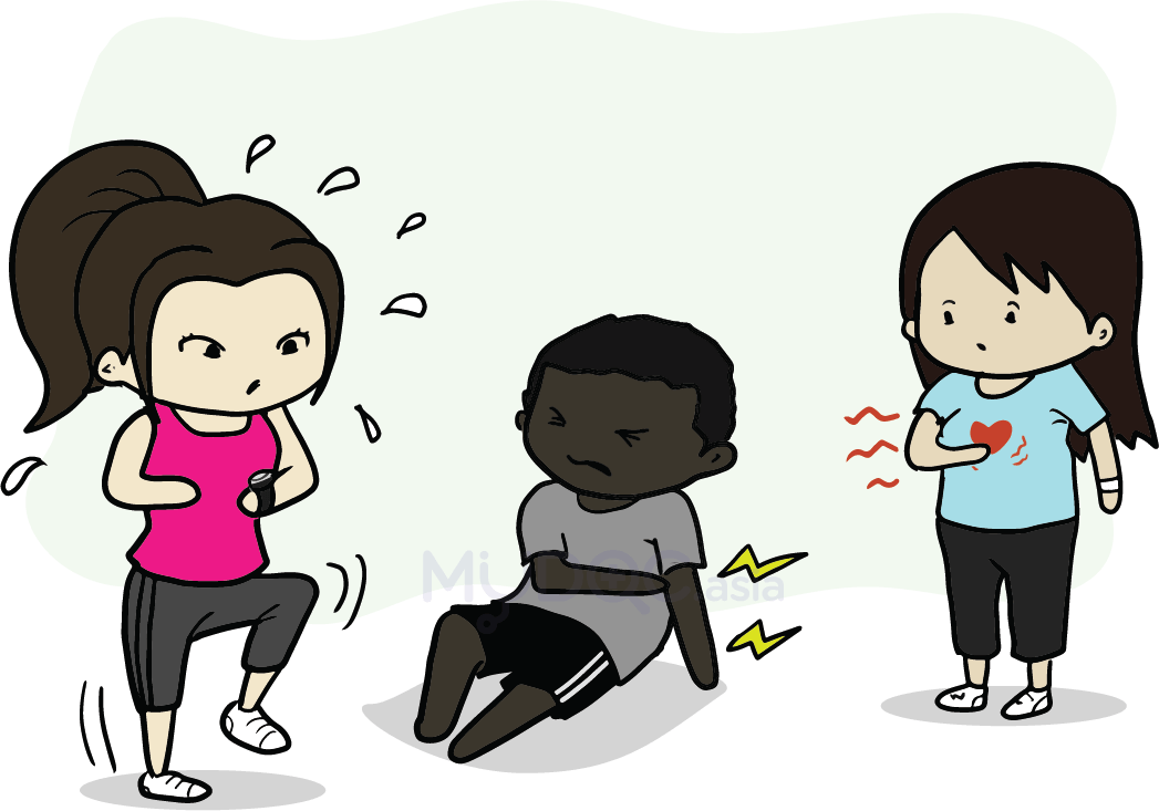 Tired clipart vigorous exercise. How much of is