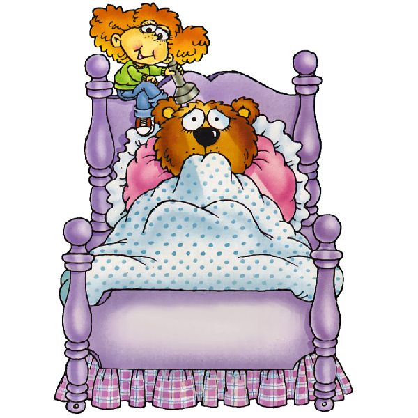 Tired clipart walk. Bed funny