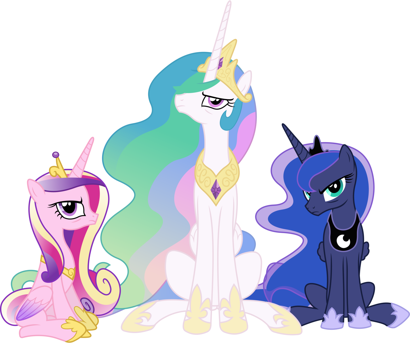 Cranky princesses by sigma. Tired clipart weekness