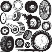 Clip art royalty free. Tires clipart
