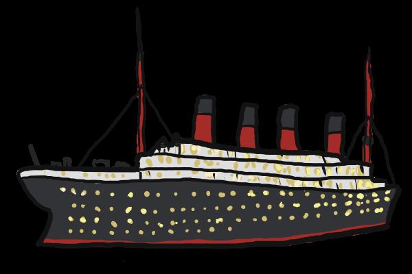 . Titanic clipart