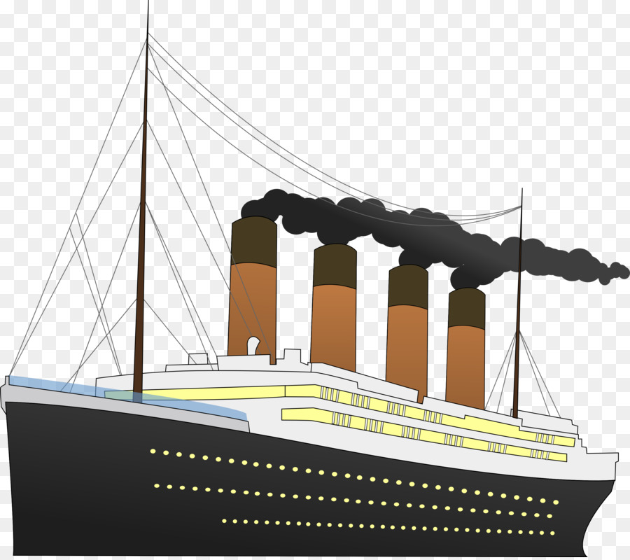 Sinking of the rms. Titanic clipart