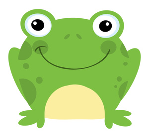 Toad clipart. Happy