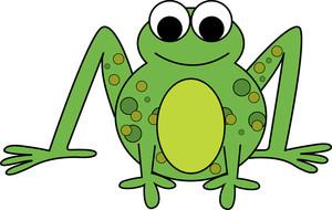 Toad clipart. Image green panda free