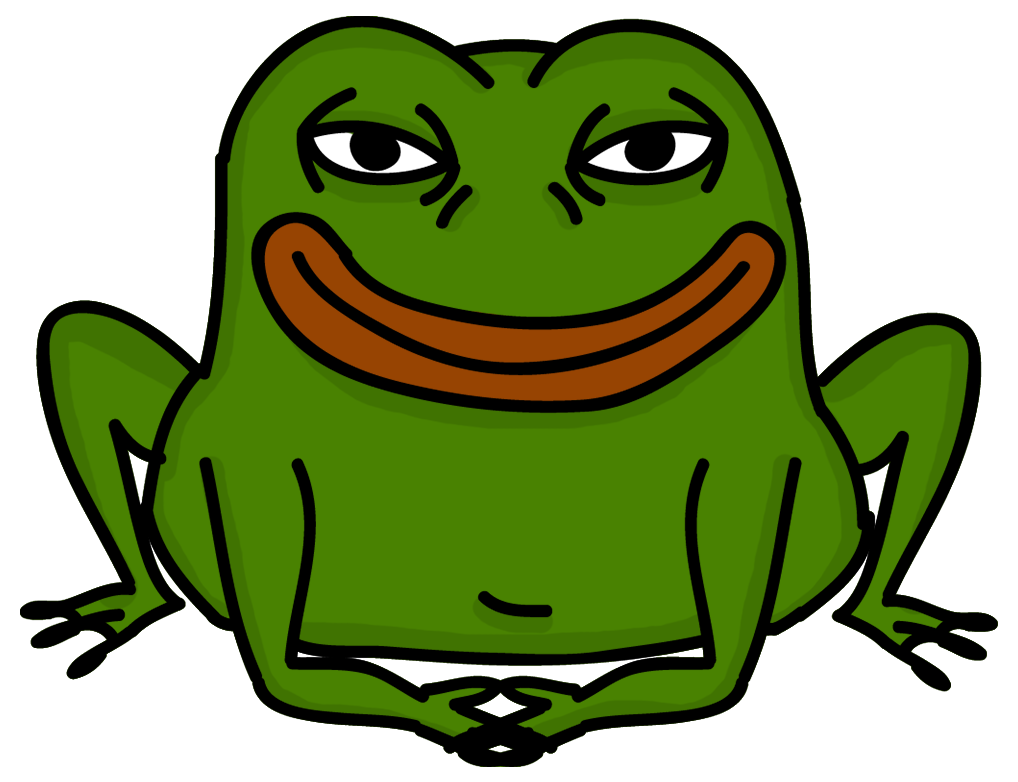 Toad clipart angry frog. Smug know your meme