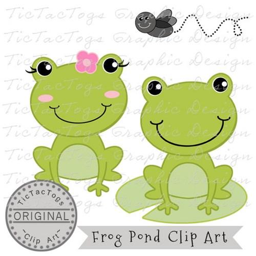 Toad clipart boy. Frog clip art digital