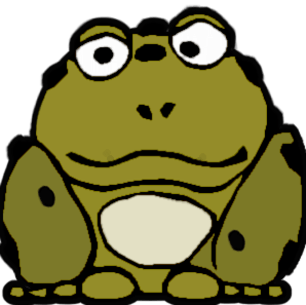 Cartoon toads group ugly. Toad clipart cane toad