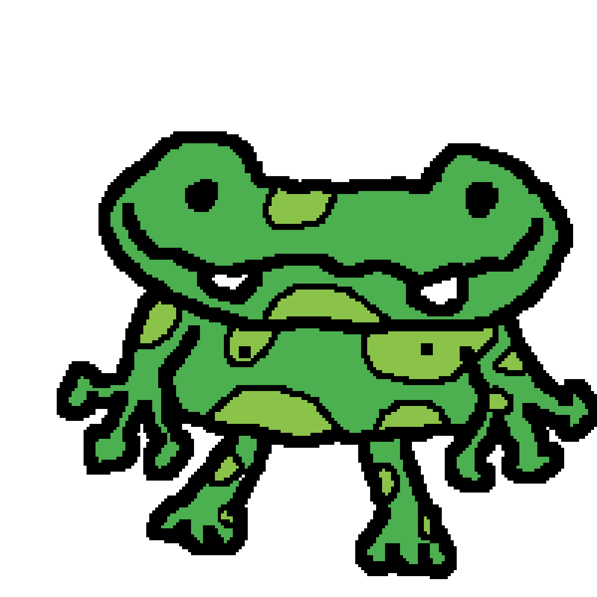 Toad clipart colour green. Notmoocow s profile freg