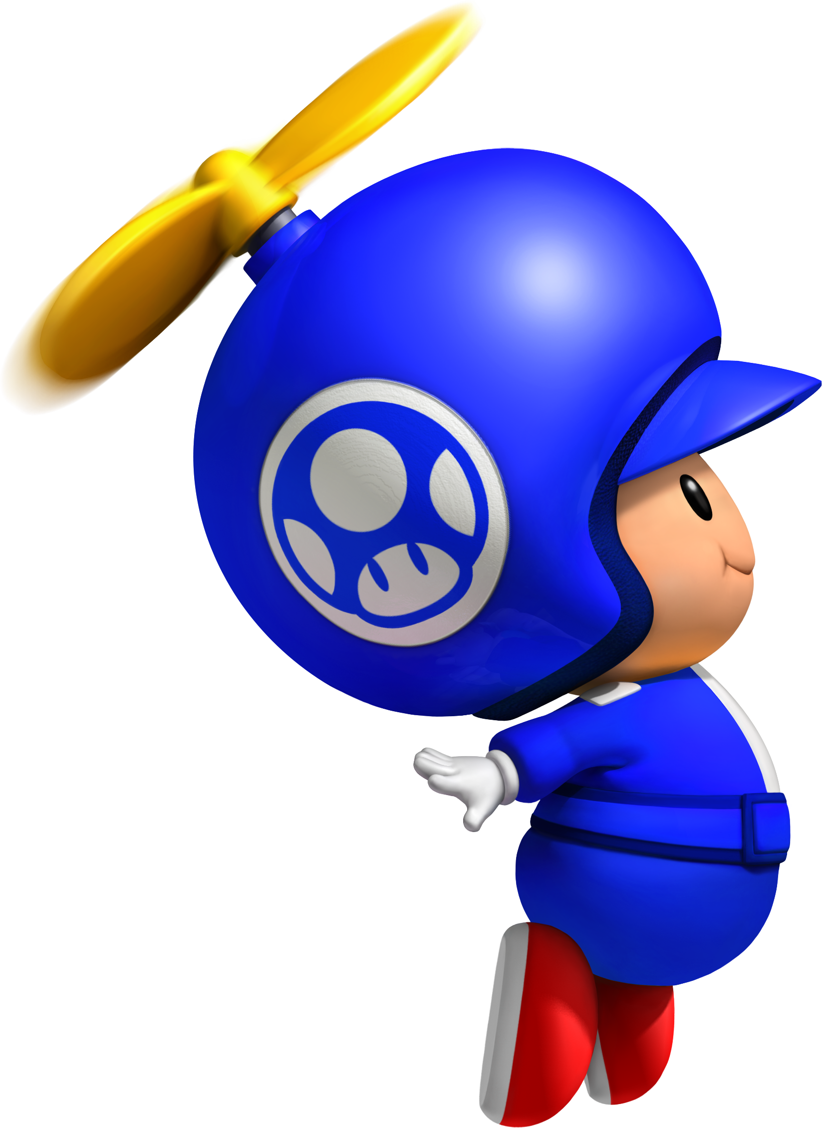 Toad clipart colouring page. Image propeller blue png