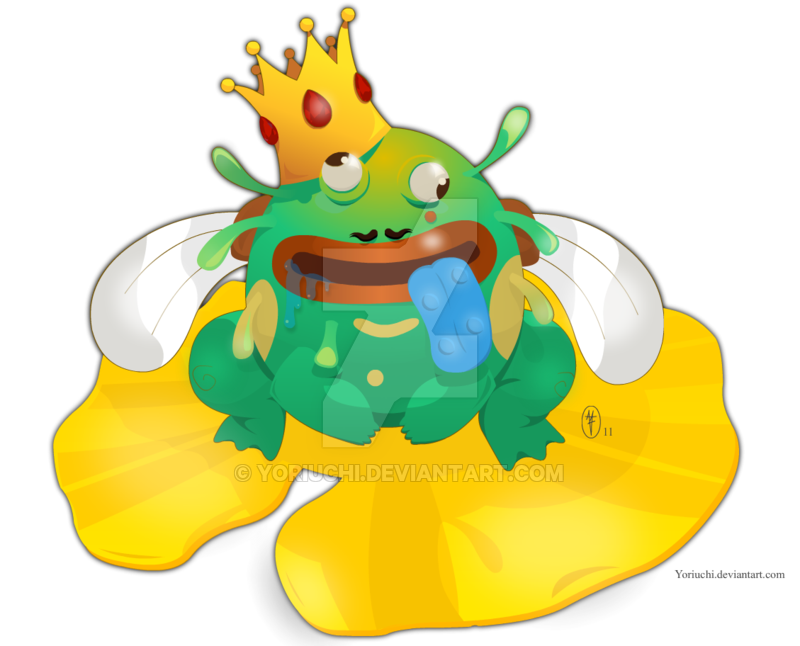 Toad clipart crapaud. Mufle request by yoriuchi