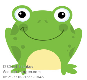 Toad clipart face. Illustration of a cute