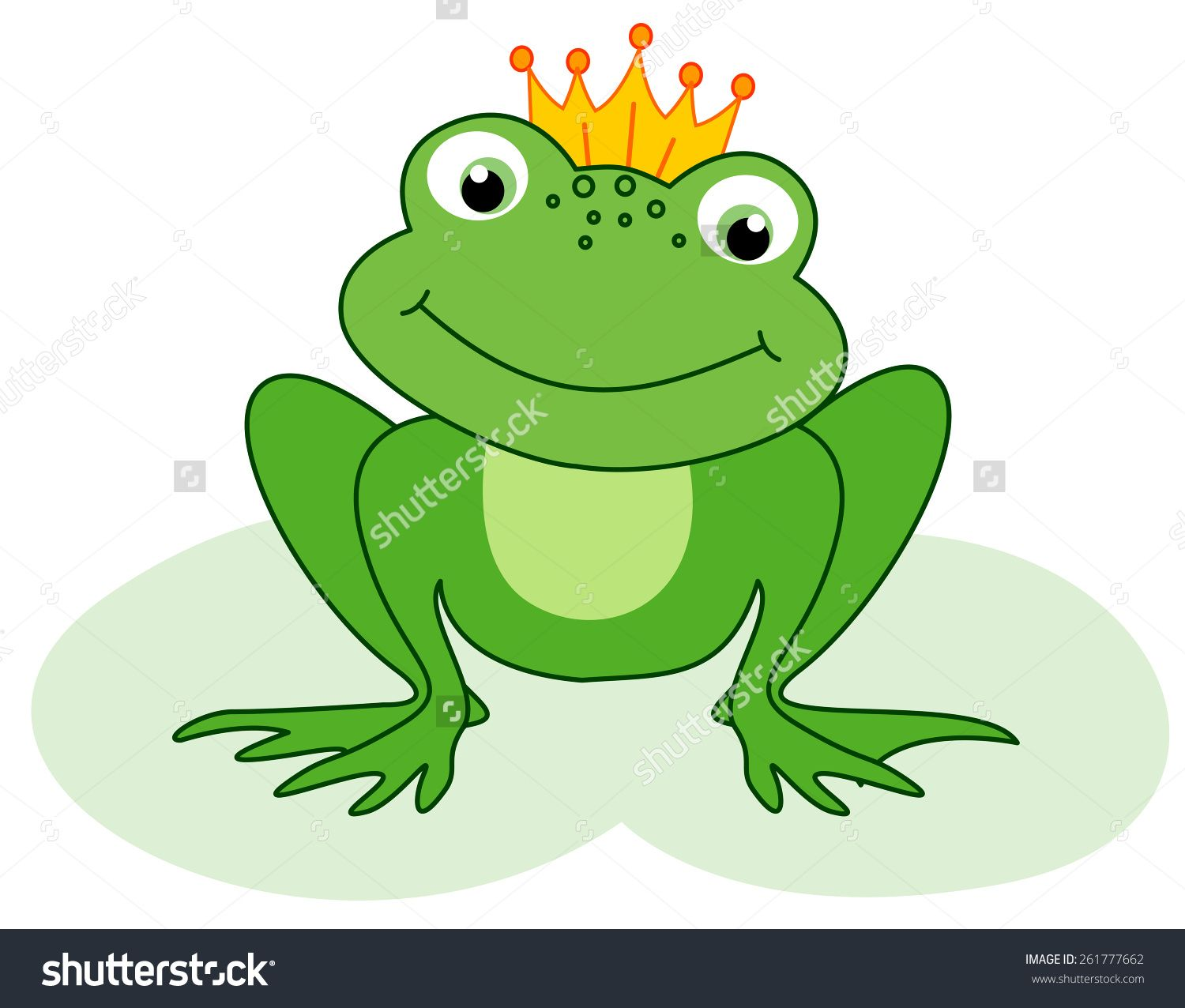 Toad clipart frog prince. Cute little with a