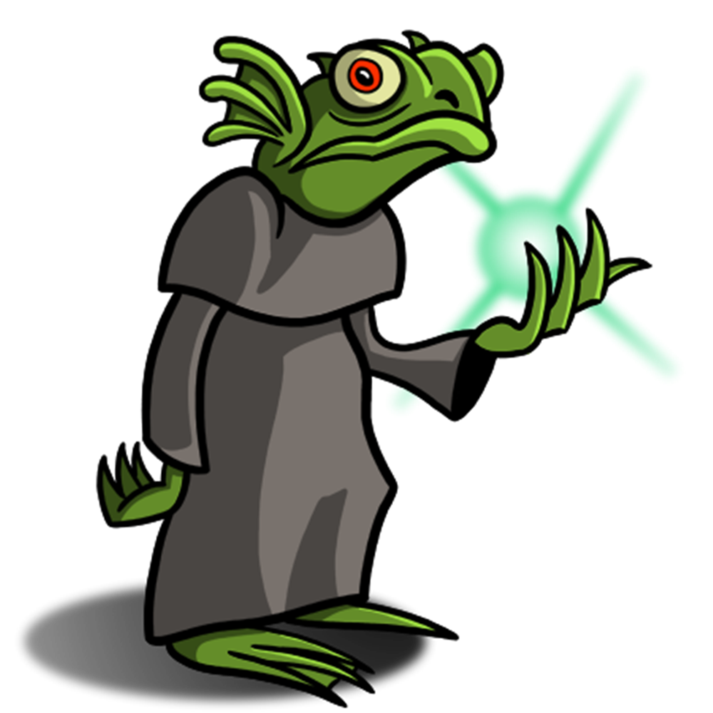 Laybly the storyteller monsters. Toad clipart magic spell
